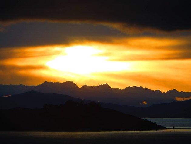 Zonsopkomst op Isla del Sol