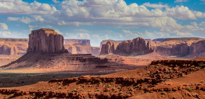 Filmdecor Monument Valley