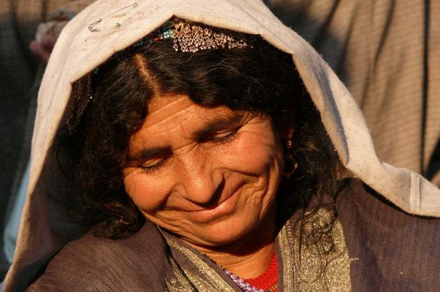 Een lach in Kashmir