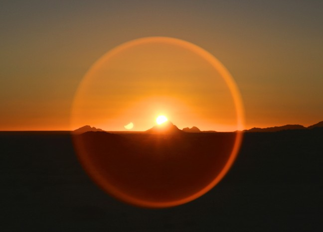 Explosie van zon