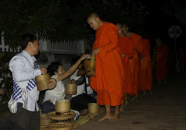 Bedelronde der monniken