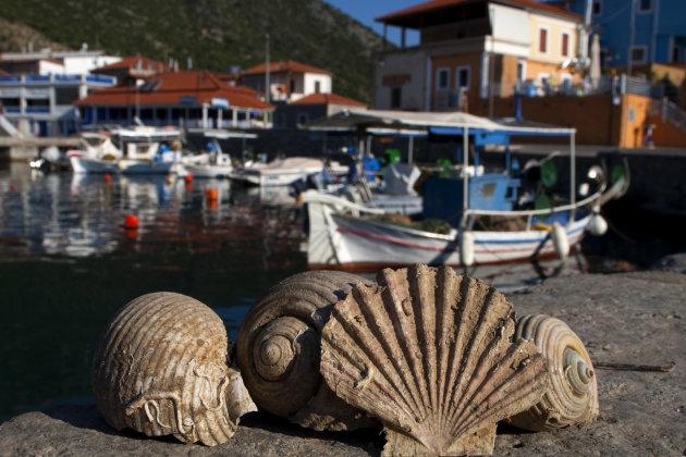 Het haventje van Plaka