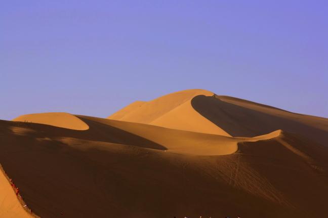 duinen in Dunhang