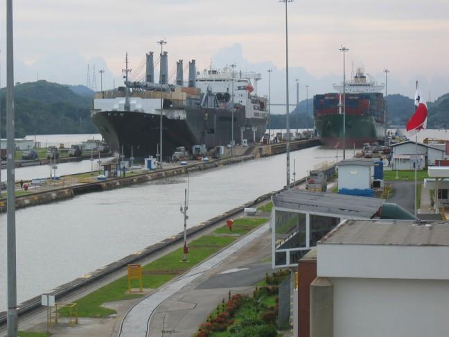 Miraflores locks - Panama kanaal