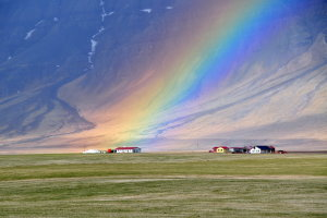 Een van de vele natuurwonderen van ijsland