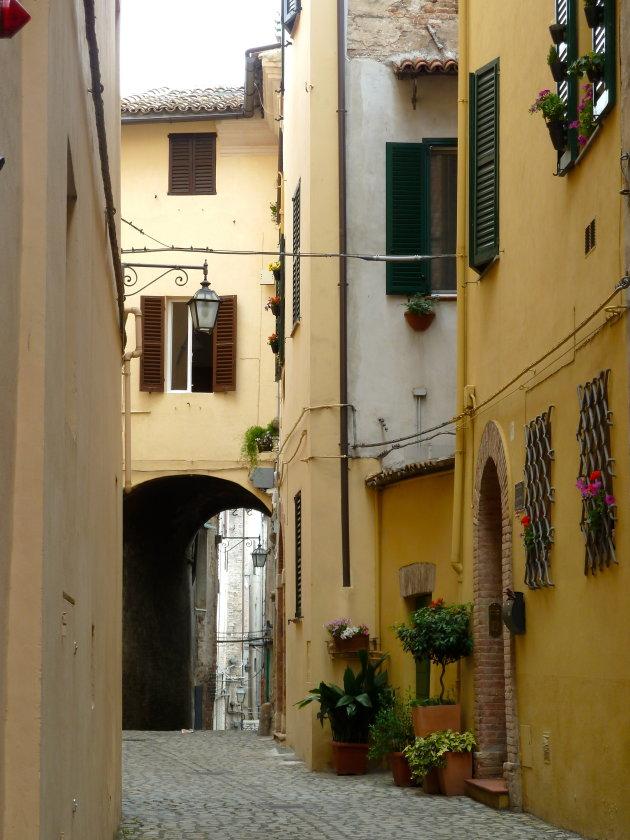 Beeldige kleurrijke straatjes