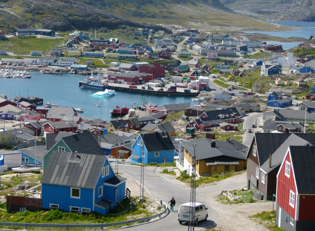 View of Qaqortoq