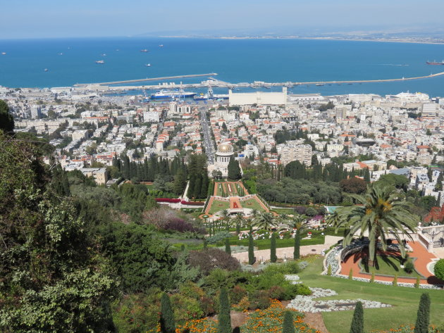 Haifa, uitzicht