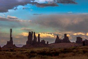 Kleurenpracht Monument Valley