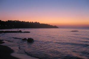 Zonsondergang Sicilie