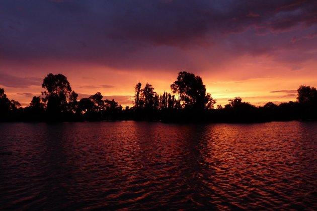 Sunset maryborough