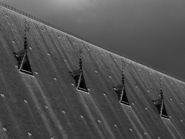 Van een leien dak