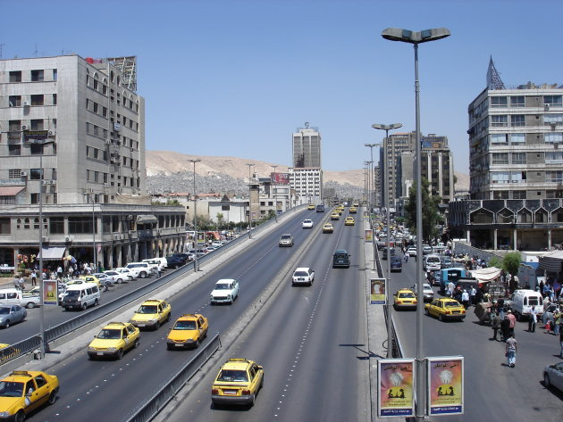 Highway in Damascus