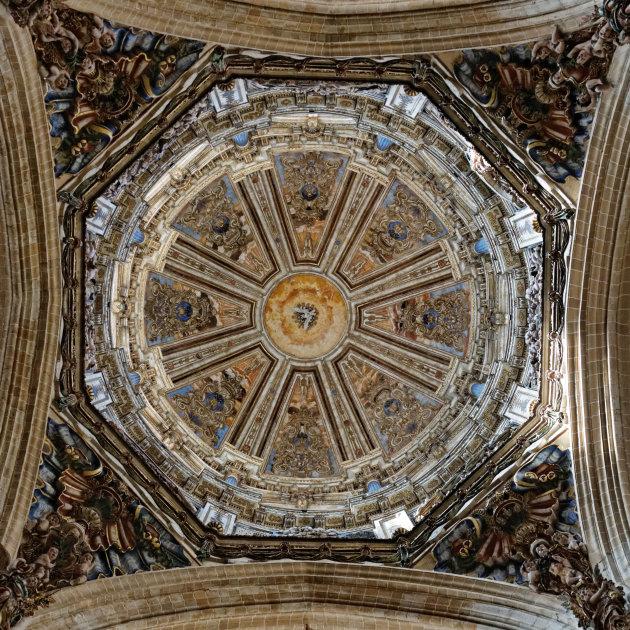 Koepel kathedraal Salamanca