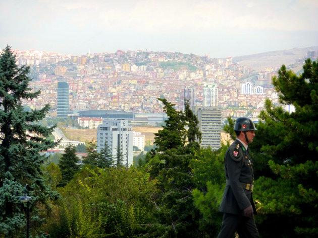 Soldaat in Ankara