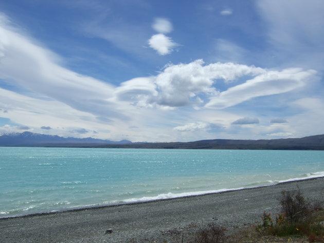 Lake Pukaki, Nieuw-Zeland