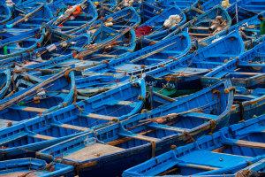 Blauwe bootjes