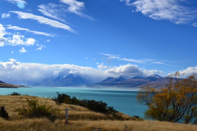 Bijzondere tinten blauw in Mount Cook NP