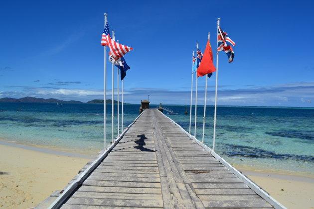 Steiger van Mana Island, Fiji
