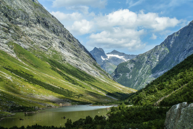 Imposante bergen