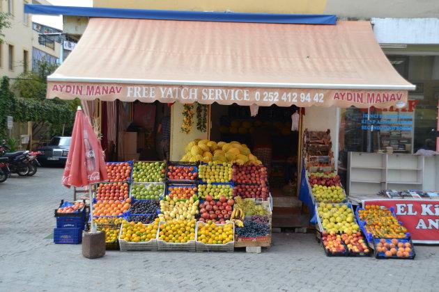 Groente en Fruit winkel