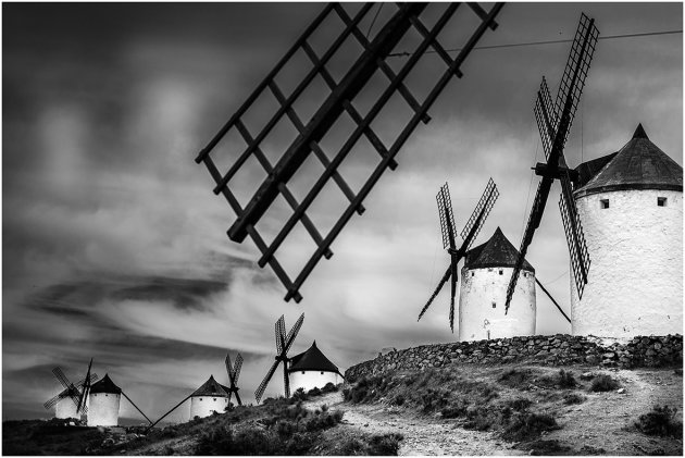 Windmolens van Consuegra