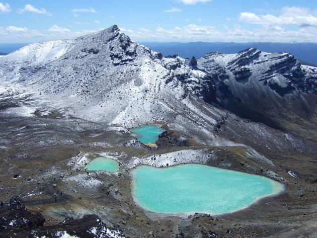 Blauwe kratermeren