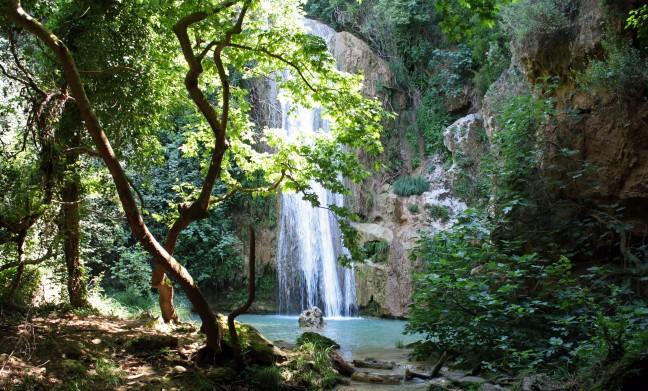 Kalamari watervallen