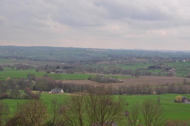 Mooi uitzicht over Henri-Chapelle