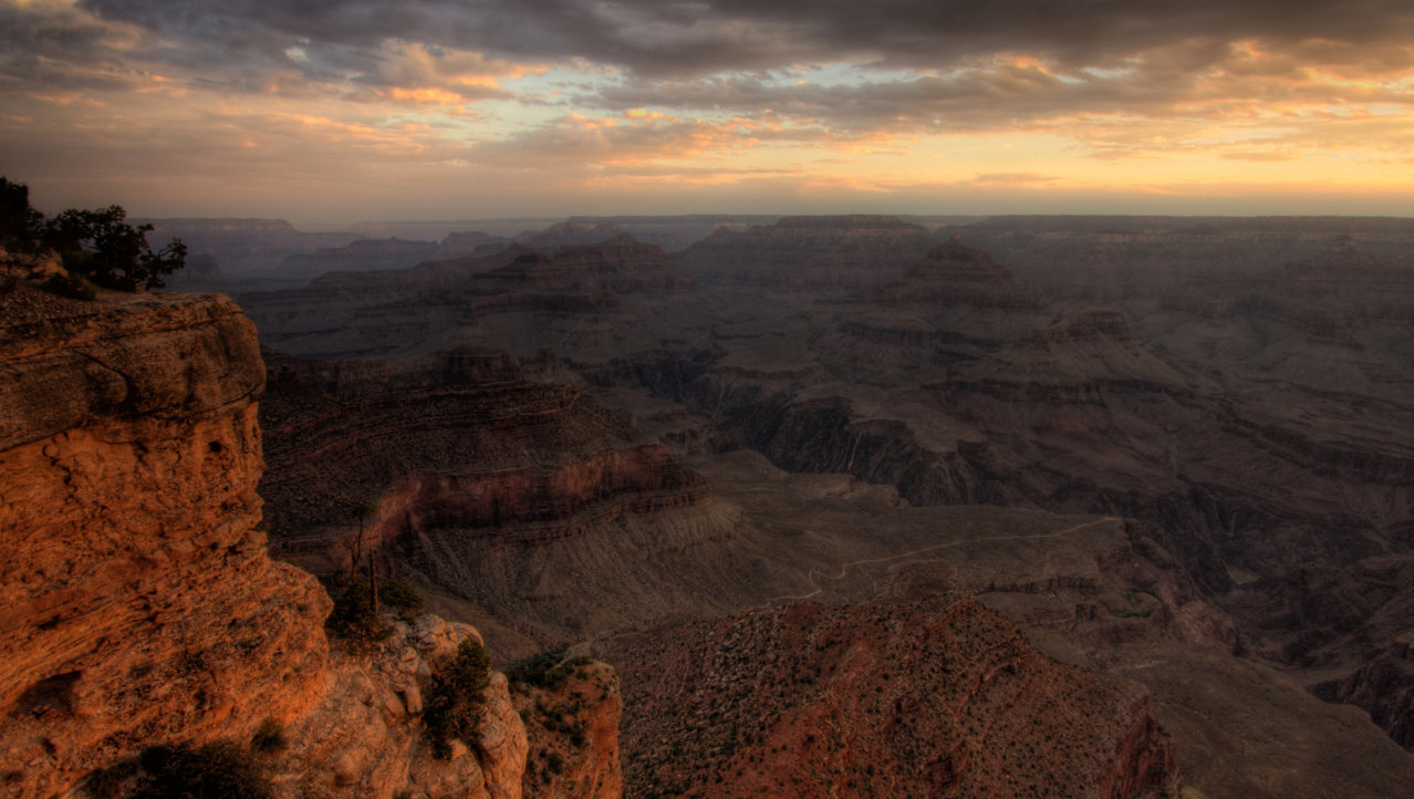 Zonsopkomst in de Grand Canyon