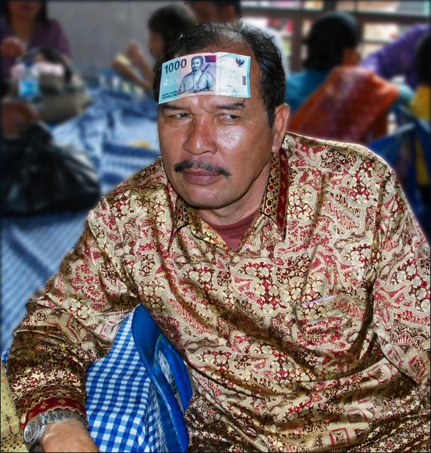 De lolbroek van de bruiloft in Medan?