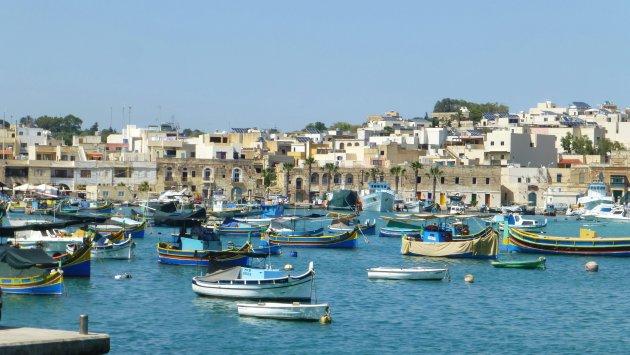 Marsaxlokk haven