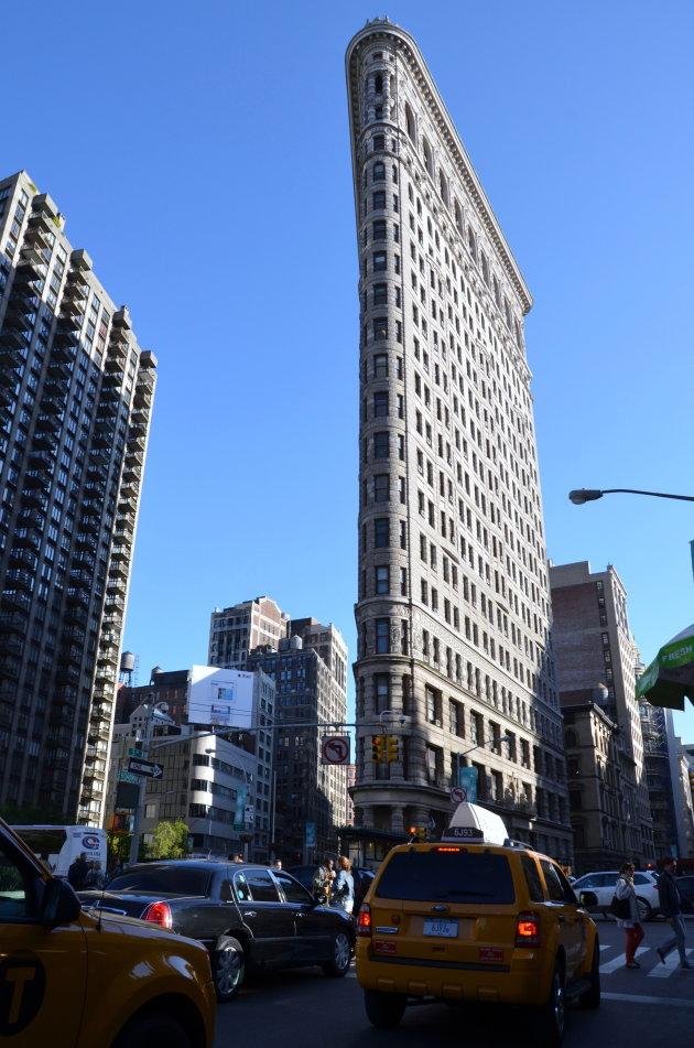 New York: flat iron building