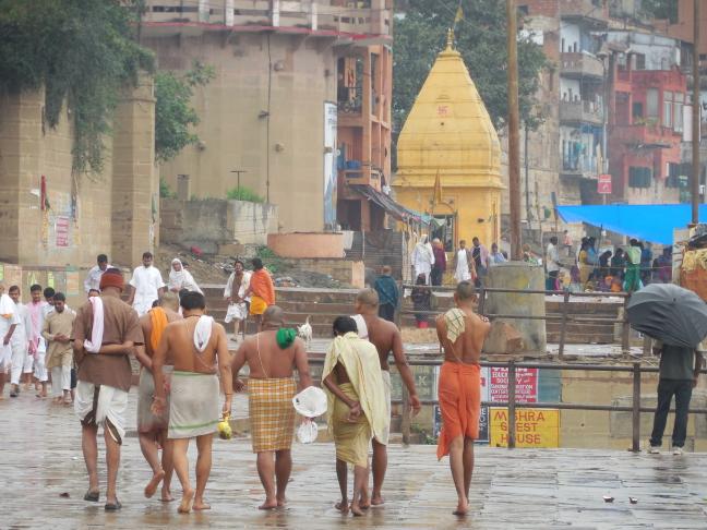 Badritueel in Varanasi