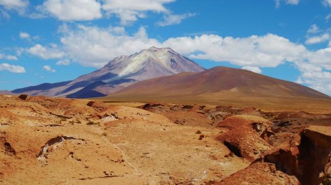 Vulkaan in Bolivia