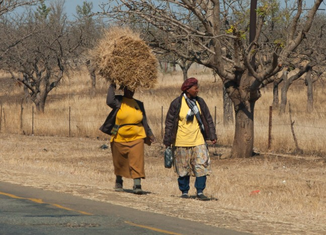 Vrouwen in Swaziland