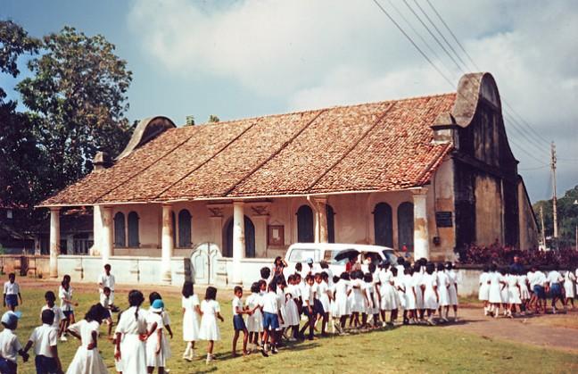 Hollands kerkje in Sri Lanka