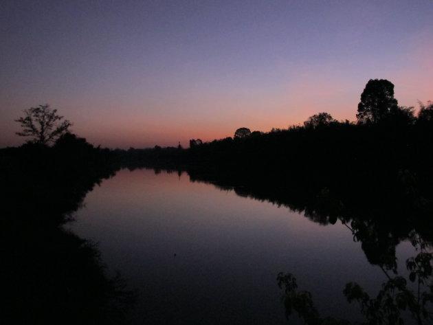 Sunset bij Ca Tien