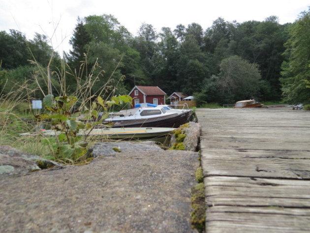bootjes aan een meer