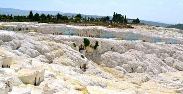 De kalksteenterrassen van pamukale
