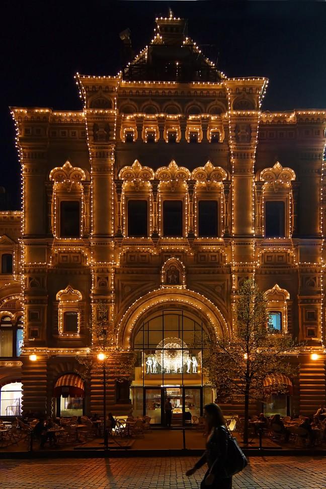 Sprookjesrestaurant in Moskou