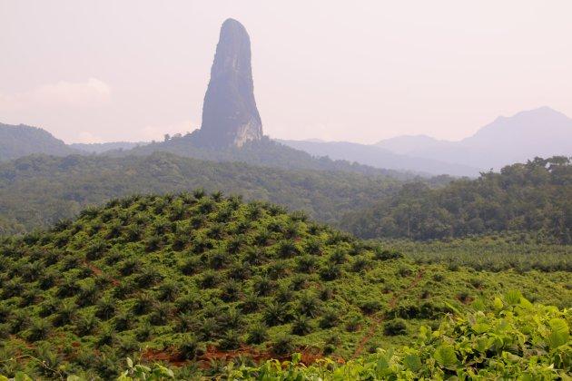 vulkanische plug, Pico Cao Grande