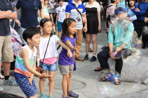 Kinderen in Seoul