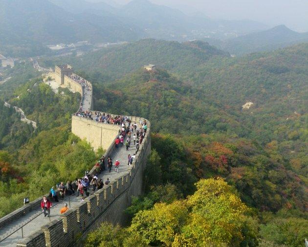 Herfst over de Chinese Muur