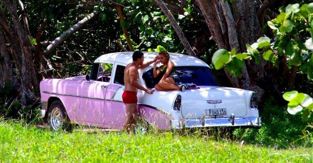 Grease in Cuba