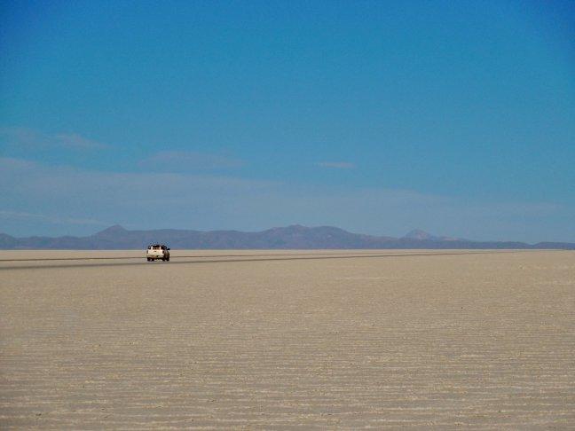 Eindeloze vlakten in Bolivia