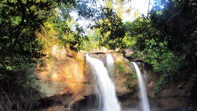 De waterval Namtok Heo Suwat, Khao Yai National Park