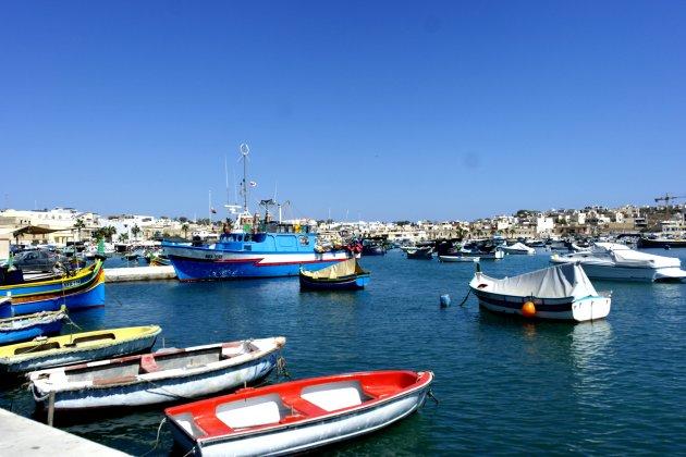 haven vismarkt Marsaxlokk