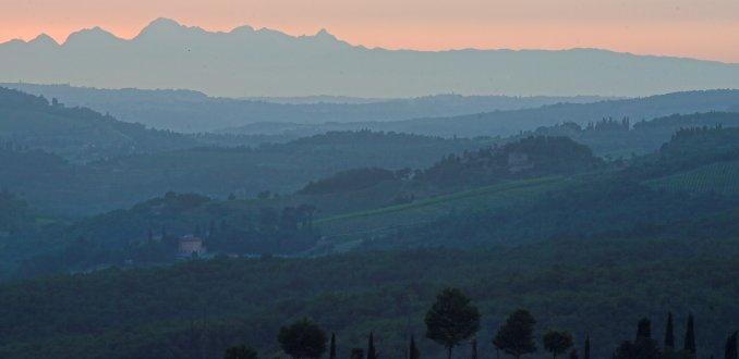 Het uitzicht bij Signora Baldini