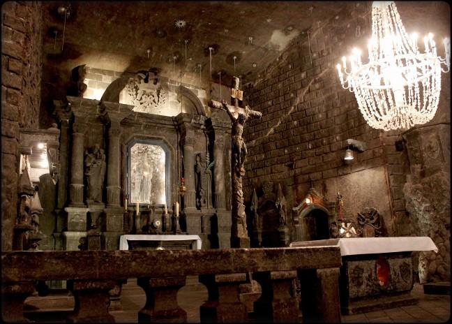 Zoutmijn kapel